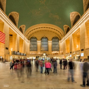 Een van de drukste stations ter wereld, Grand Central Terminal in New York