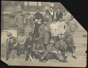 Anonymous, Photograph taken during the meeting of constructivists and dadaists in September 1922. Foto RKD.