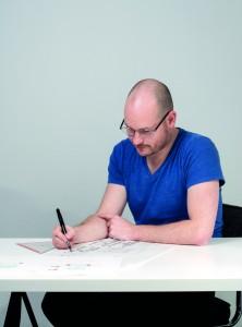 Roel Slabbers won in 2015 de BNI -prijs met zijn masteronderzoek en -ontwerp Inter-esse, over overgangen in architectuur.