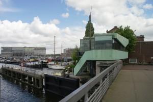 De Westerkeersluisbrug, Amsterdam. ZICHT architecten