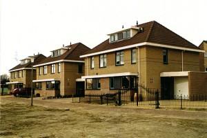 Woningtype Orion I, ontwerp B., 12 woningen gebouwd in Middelmeer 1999