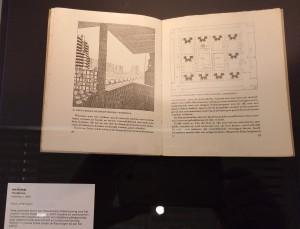 Bouwen op papier- Museum het Valkhof. Hoogbouw Jan Duiker. 1930. Foto Jacqueline Knudsen