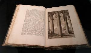 Leon Battista Alberti. Della architectura, della pintura, della statua. Bologna 1782. Foto Jacqueline Knudsen