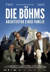 Die Böhms dvd, vlnr Stephan, Paul, Gottfried en Peter Böhm, met een portret dat Gottfried van Elisabeth maakte