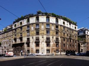 Ca' Brutta in Milaan, architect Giovanni Muzi, 1922.