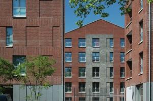 Rijghpark Tilburg, herontwikkeling voormalige textielfabrieksterrein, ontwerp AWG architecten.