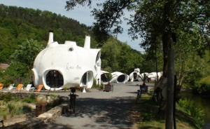 Museumotel in Râon-l'Etape (Fr) van Pascal Häusermann, geopend in 1967 en na renovatie heropend in 2007. Foto Jacqueline Knudsen