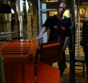 Object Rotterdam 2016 -  Sander Mulder bij zijn Pandora containerkast