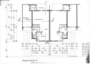 Begane grond woningtype Orion 1