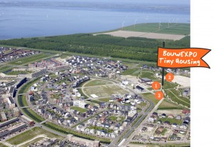 Homeruskwartier, Almere. Luchtfoto uit prijsvraagreglement, door Top.shot.nl.