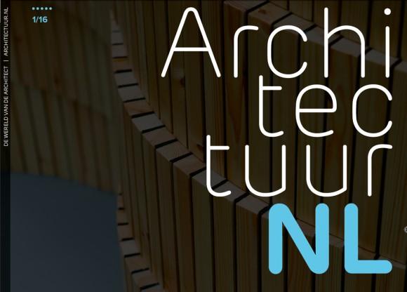 ArchitectuurNL 01 2016