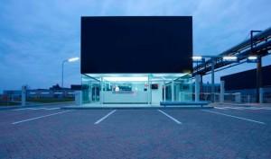 Poortgebouw Industriepark Kleefse Waard
