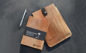 Palmleather: kaft nototieboek en iPad-hoes