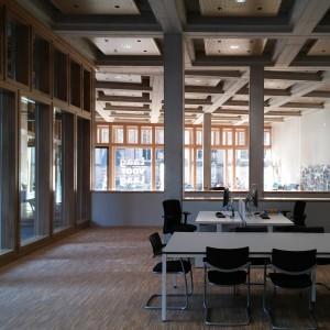 Informatiecentrum aan Grote Kerkhof in stadhuis Deventer. Foto Jacqueline Knudsen.