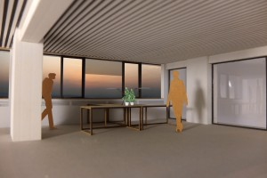 4. Werkplek met persoonlijke controle over temperatuur, daglicht(toetreding) en frisse lucht (te open ramen).