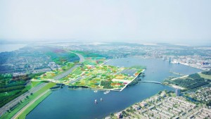 Almere Oosterwold MVRDV  floriade 2022 masterplan