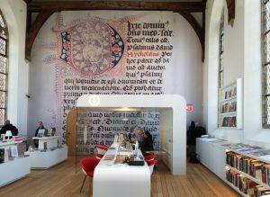 Centraal Museum Utrecht SODA architecten informatiecentrum in kapel. Foto Jacqueline Knudsen