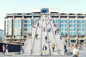 Trap Groothandelsgebouw Rotterdam MVRDV
