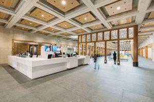 receptebalie stadhuis Deventer, interieur door Atelier PRO. Foto Eva Bloem