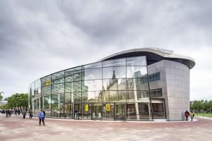 Entreegebouw Van Gogh Museum Hans van Heeswijk Architecten, Kisho Kurokawa Architect & Associates Foto: Ronald Tilleman