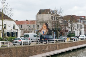 Oosterkade-met-muurtekening. foto Boy-Berend-