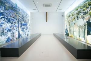 Nieuwe expositieruimte. Foto Liset van der Laan