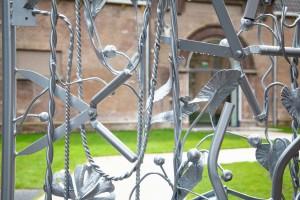 Tuin met hekwerk door Couzijn van Leeuwen. Foto: Liset van der Laan