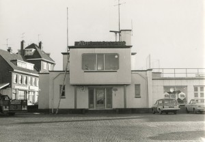 Oude gevel Radio Holland ca 1975