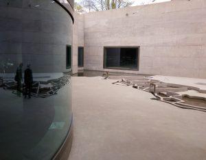 De presentatie vond plaats in het Waterliniemuseum  in Bunnik (ontwerp Anne Holtrop). Foto Jacqueline Knudsen