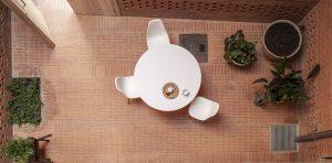 Huis 1014 in het centrum van Granollers combineert traditie met een modernistische uitstraling door het gebruik van baksteen