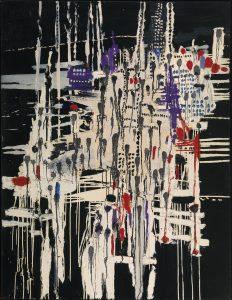 Constant, La ville noyée (Verdronken stad), 1956. Collectie De Heus - Zomer. Foto: Tom Haartsen