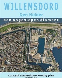 West 8, concept stedenbouwkundig plan, met in witte cirkel locatie School 7