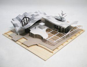 Materiaal- en constructiemaquette 1:100
