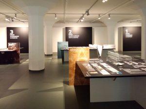 Per project zijn er 3 eilanden: 1 Context, 2 Huid & skelet en 3 Interieur