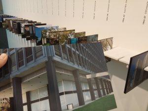 Tijdlijn met de 80 uitgevoerde gebouwen van Mies van der Rohe