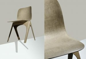 Christien Meindertsma, Flax Chair