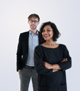 Wilrik Kok en Karina Peña, partners van Field Factors