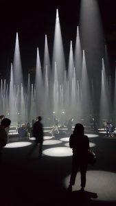 Installatie van de Japanse architect Sou Fujimoto voor modemerk Cos