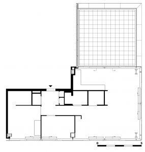 Het appartement is ca 100 m2