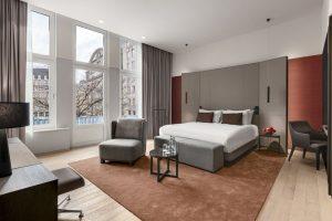 de rijke geschiedenis van het hotel en de stad amsterdam is in het ontwerp terug te vinden