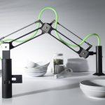 Designkraan met verlichting