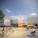 Ontwerp Vakcollege Tilburg door architecten_en_en