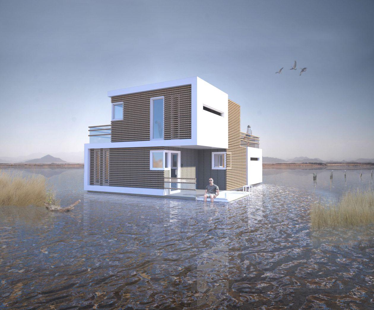 Studio oba ontwerpt gescheiden huis - Huis interieur architectuur ...