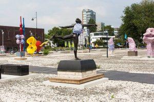 Pop-up park Rotterdam ontworteld
