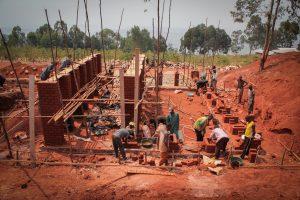 Bibliotheek in Burundi. Beeld BCarchitects&studies