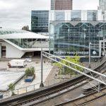 Overkapping glas en staal Haags Startstation