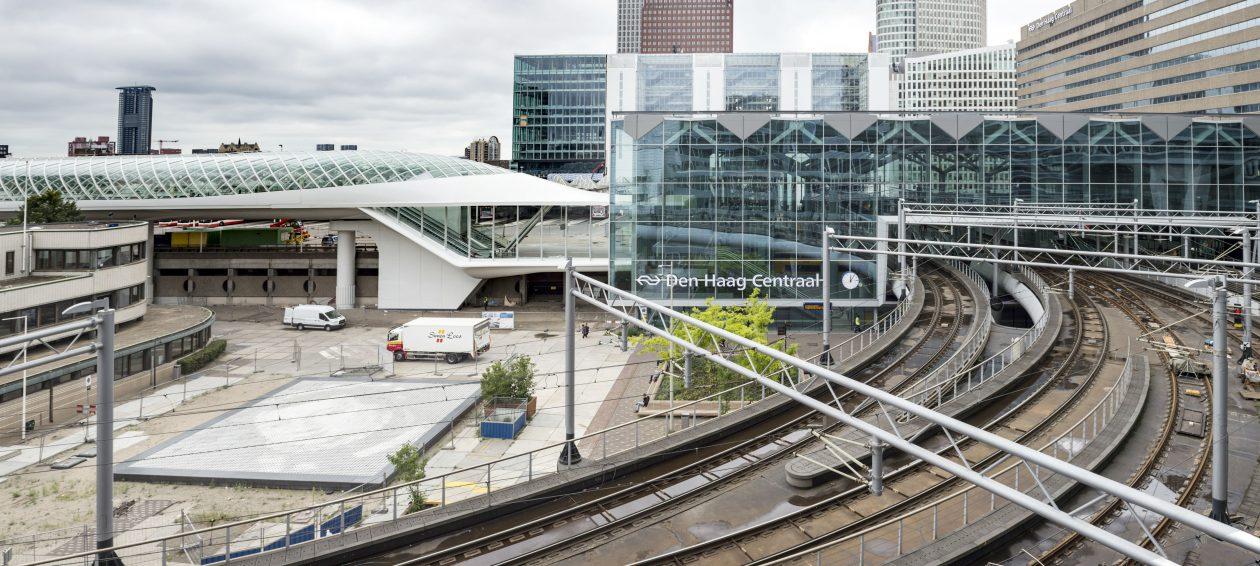 Glas Den Haag.Overkapping Glas En Staal Haags Startstation Architectuur Nl
