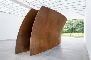Museum Voorlinden-Richard Serra-Open Ended-Foto Antoine Van Kaam