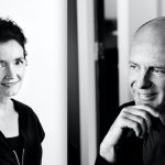 Caroline Bos en Ben van Berkel