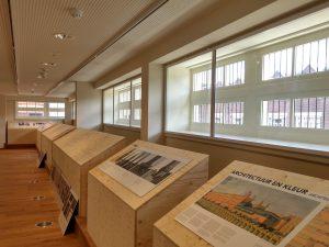 Zaal voor tijdelijke exposities op de 2e verdieping voorzijde.